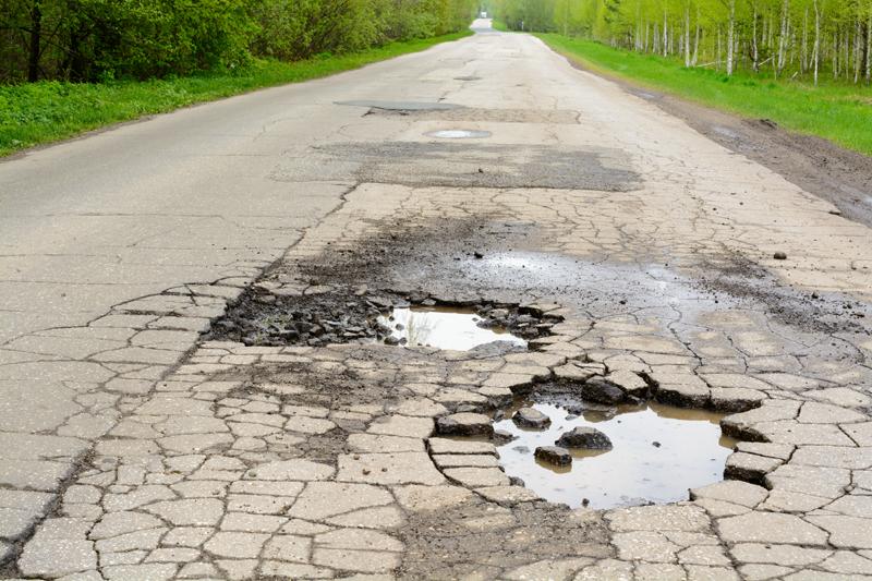 How Potholes Form