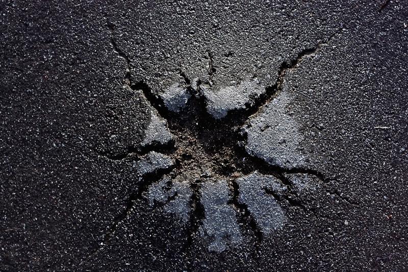 Asphalt Driveway Heave