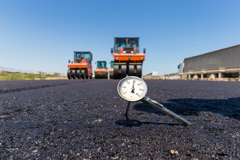 Asphalt Temperature