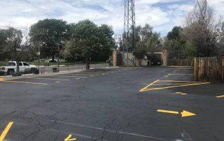Denver Parking Lot Restriping - After