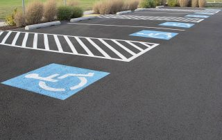 Handicap Parking Striping Requirements