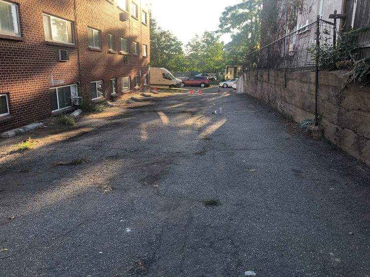 parking-lot-project-highland-apartments-retaining-wall