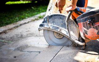 How to Cut Concrete and Asphalt